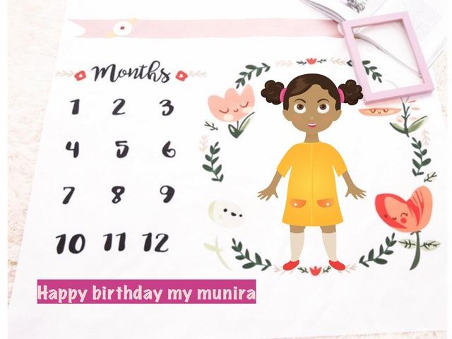 Munira Birthday by munera khuder