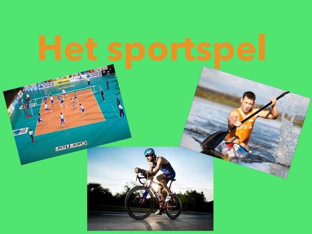 Het Sportspel by Celine Fahem