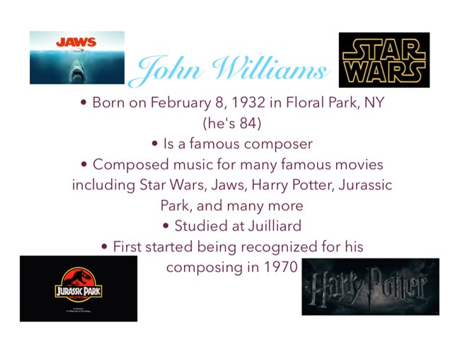 John Williams by Dan Morrow