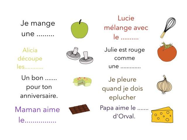 Complète Les Phrases by Virginie Kaiser