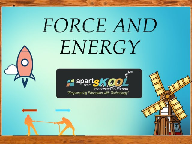Force And Energy by TinyTap creator