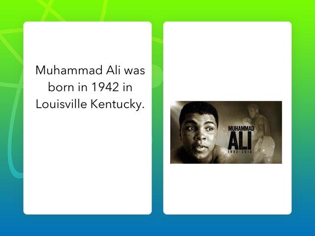 Muhammad Ali By Christian by Christine Snow