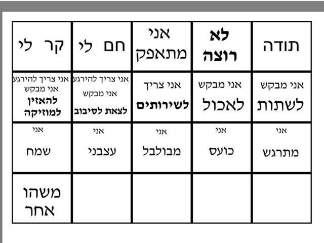 לוח תקשורת מארק by Dorit Rayzin Versano