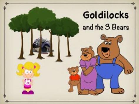 Goldilocks And The 3 Bears by Ellen Weber