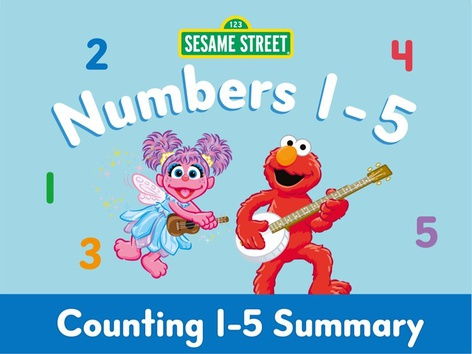 Counting 1-5 Summary by Sesame Street by Tiny Tap