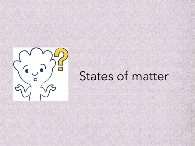 States Of Matter Game by Mariam Alkaabi