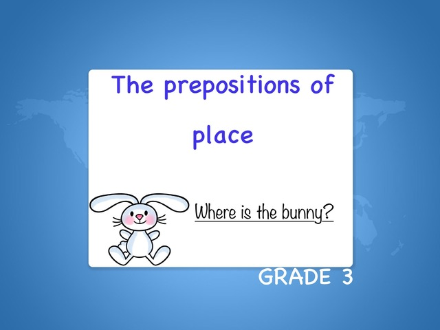 The Prepositions Of Place by Laurence Micheletti