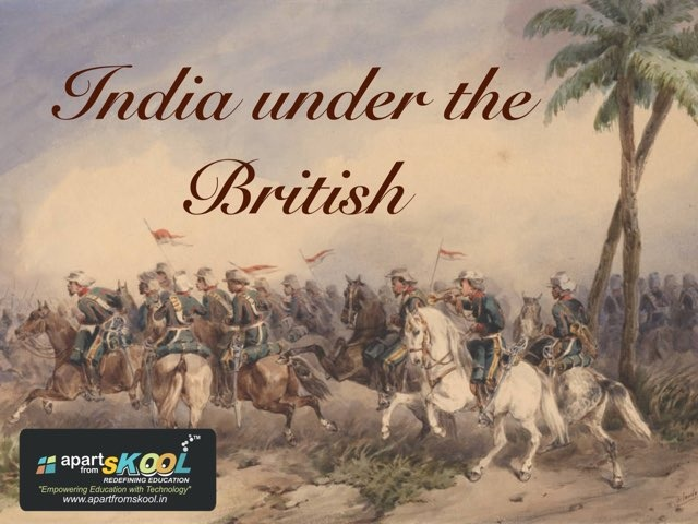 India Under The British by TinyTap creator