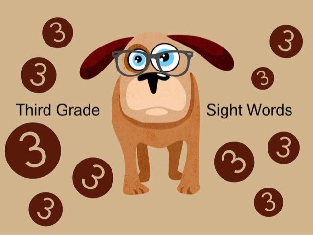 Third Grade Sight Words 4 by Ellen Weber