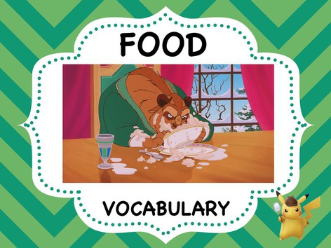FOOD - Vocabulary by ShowAnd Text