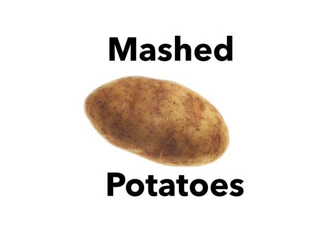 Mashed Potatoes  by Vision Teacher