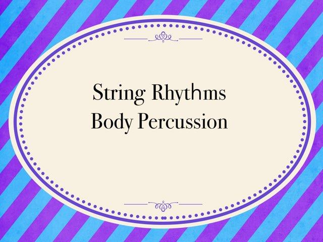 Strings by Carmen Martínez