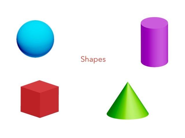 3D Shapes by Elisha Cheung