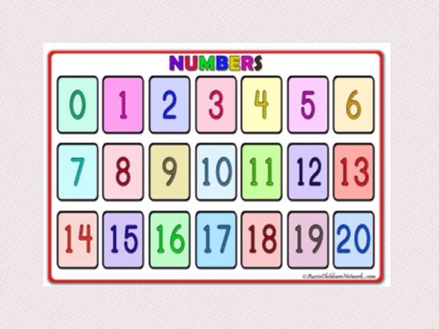 Number line by Deborah Fletcher
