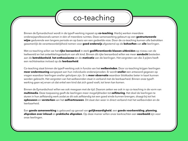 co-teaching by Annelies Luyckx