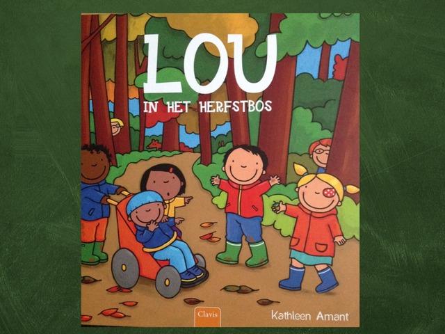 Lou in het herfstbos by Naomi De Backer