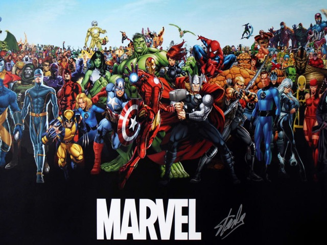 All About Marvel Comics  by Aiden Borlongan