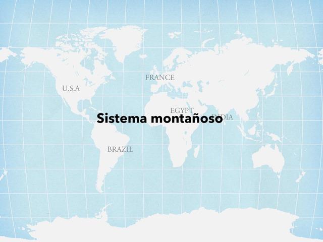 Sistema Montañoso by Valeria Villanueva Del Arco
