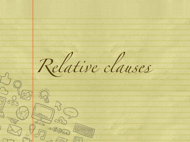 Relative Clauses Exercises by Bea Olleta