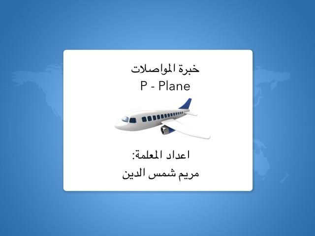 P.plane by Mariam Shamsaldeen