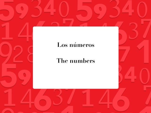 Los Números by Ana Pinto