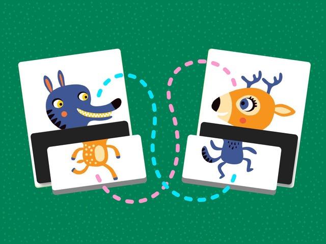 الحيوانات المبعثرة by Tiny Tap