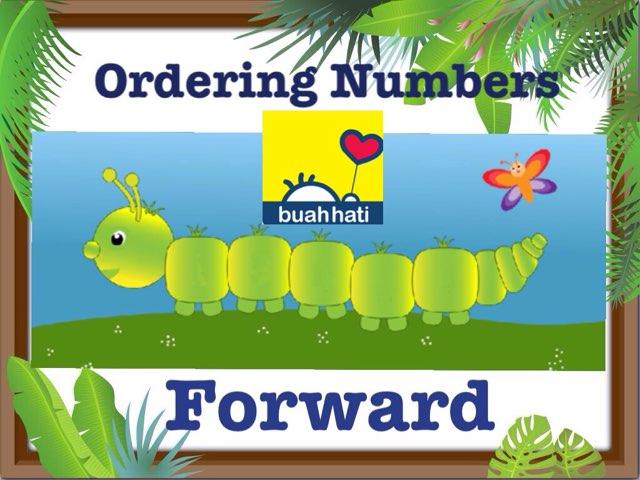 Ordering Numbers (FORWARD) by Gundala Petir