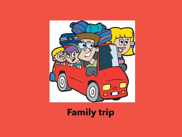 Family Trip  by Lama Ali