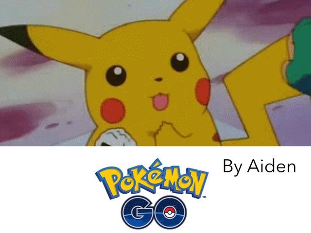 Pokémon Go  by Aiden Borlongan