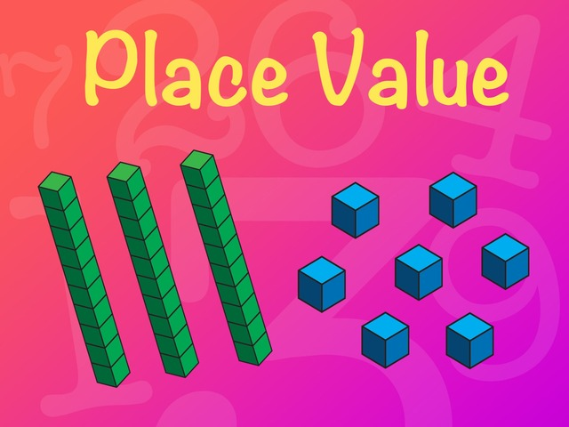 Place Value - Reading Ones And Tens MAB Blocks  by Kaitlin Orr