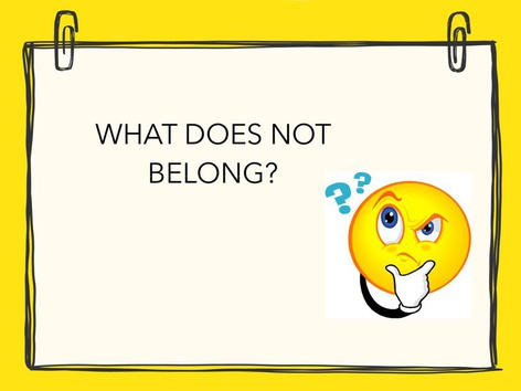 What Does Not Belong? by Tere Quilatan