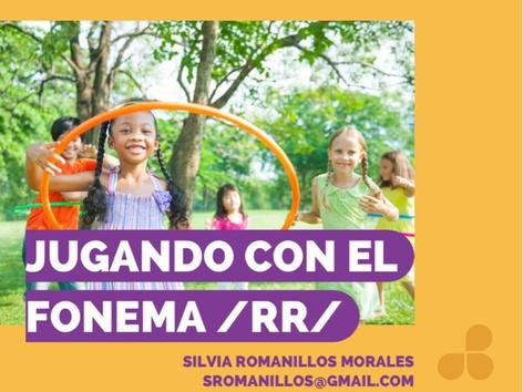 Fonema /rr/ Fuerte by Silvia Romanillos