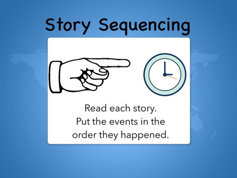 Story Sequencing  by Kathy Gordon