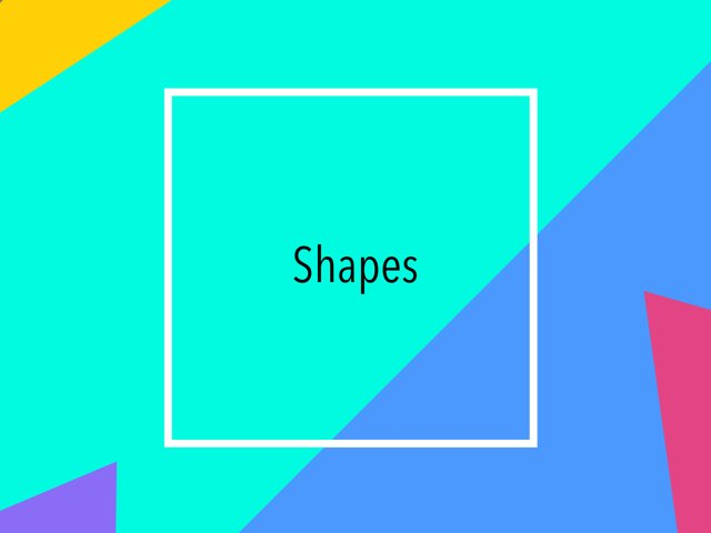 Shapes by Kirsten Re