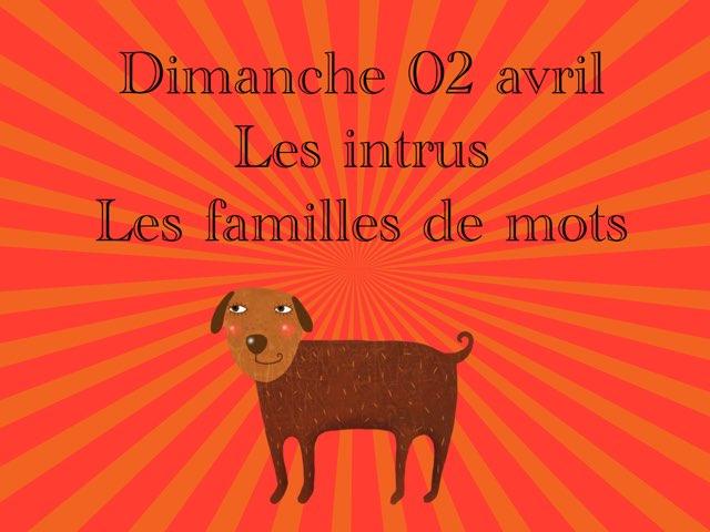A - Dim02 - Intrus Et Familles  by Caroline Gozdek