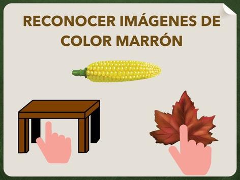 RECONOCER IMÁGENES DE COLOR MARRÓN  by Jose Sanchez Ureña