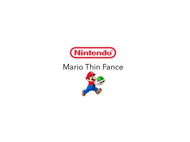 Mario Thin Fance  by Nintendo Inc.