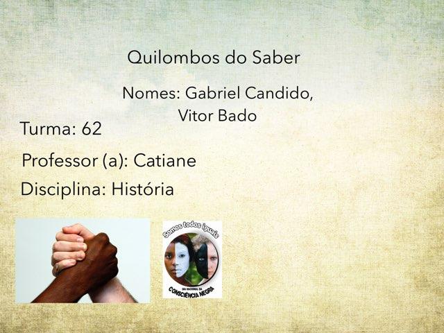 Gab. Candido e Vitor Bado by Rede Caminho do Saber