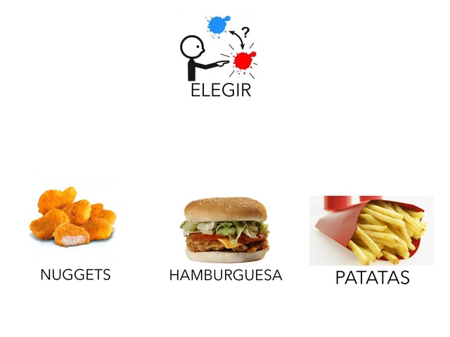 Elegir McDonalds by María Begoña Garcia