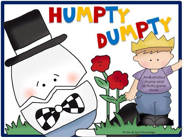 Humpty Dumpty Rhyme Game Show by Yara Habanbou