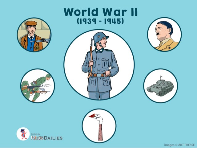 World War II by Kids Dailies