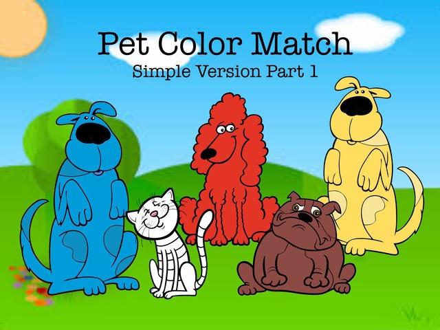 Pet Color Match 1 by Cici Lampe