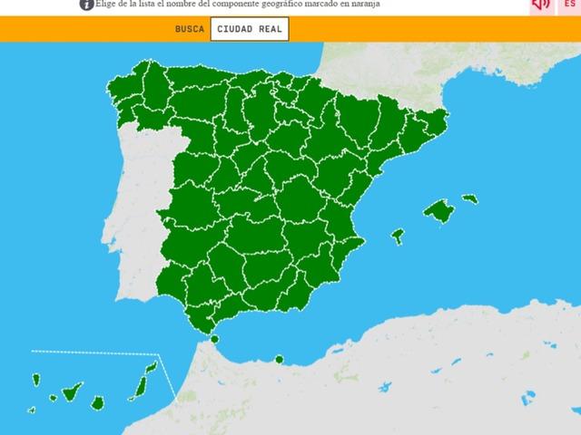 Provincias De Comunidades Autonomas by Jorge Trujillo Bermudez
