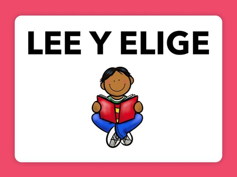 Lee Y Elige by Anabel Madera Zafra