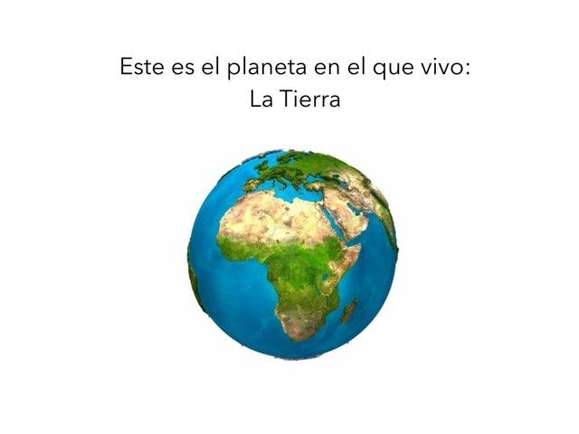 El Planeta Tierra by Manoli Sánchez