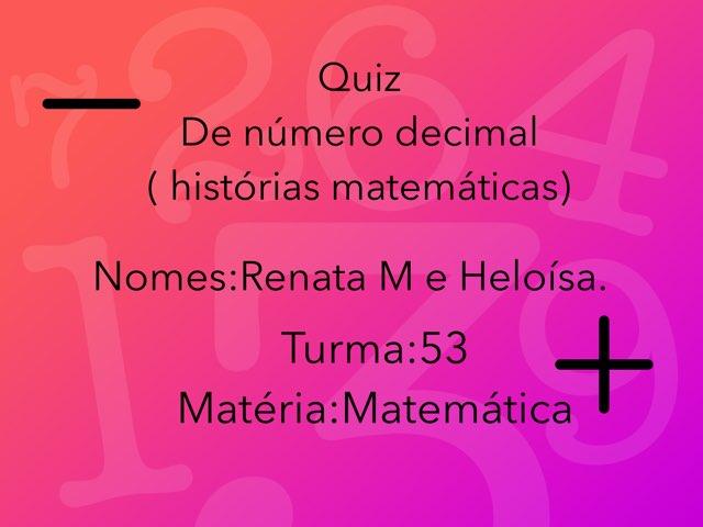 Quiz Mat. Helo E Renata M. by Rede Caminho do Saber