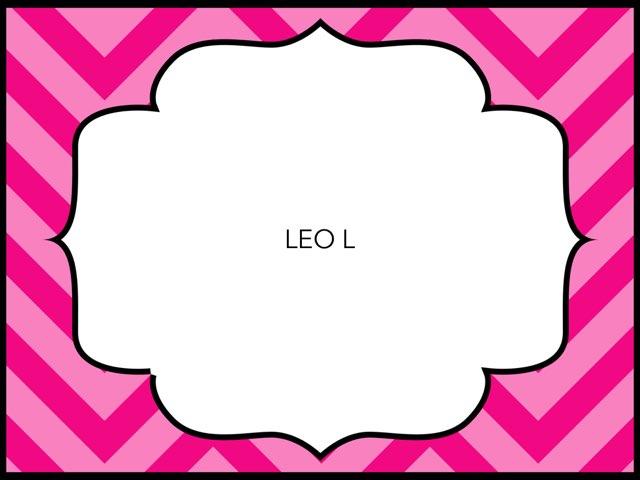 LEO L by LAURA PARDO