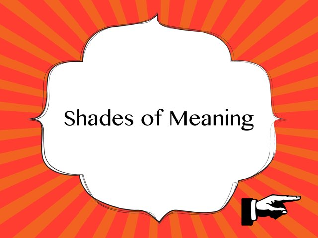 Shades of Meaning by Yasmin Stasi