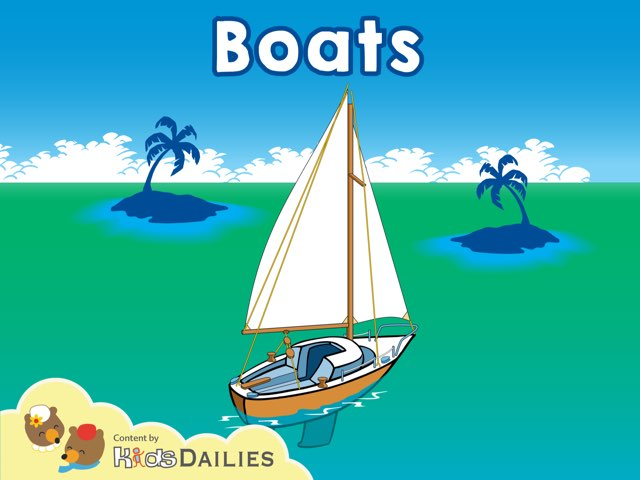 Boats by Kids Dailies