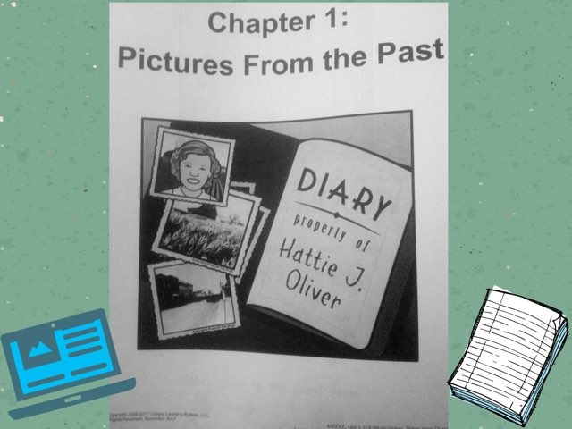 November Lesson 2 Reading Of: Pictures From The Past by Tanya Folmsbee
